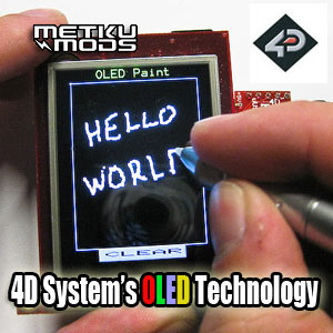 OLED Technology by 4D Systems