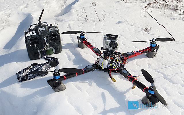 DIY MultiCopter - Part 1. - How to build yourself a multicopter!