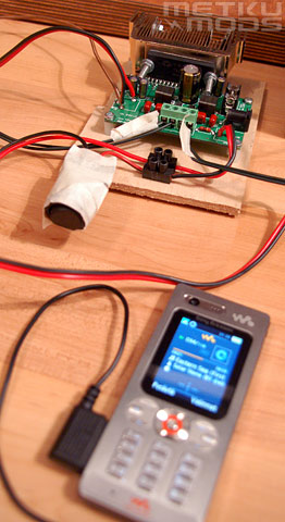 Testing the Amplifier module