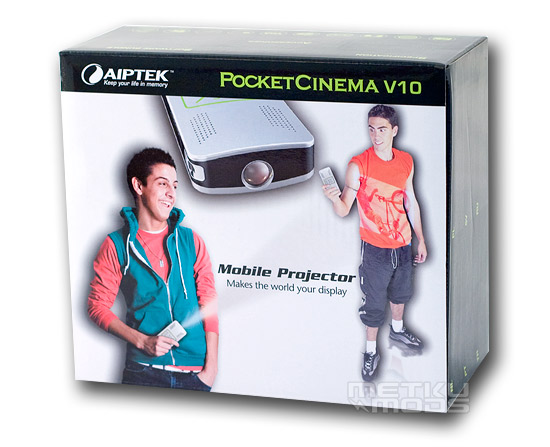 Aiptek PocketCinema V10 mini projector