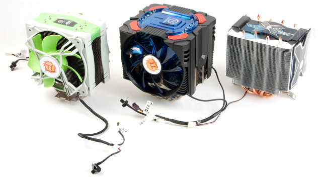 Air Cooler Roundup - Arctic Cooling vs. Thermaltake