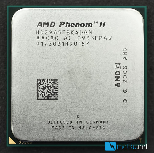 AMD Phenom II 965BE C3-stepping