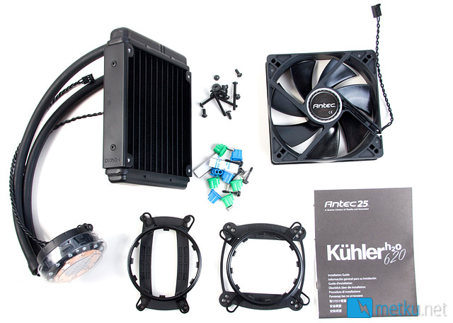 Antec KÜHLER H2O 620 & 920 - Watercooling in a compact package