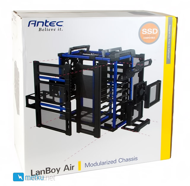 Antec LanBoy Air - Well ventilated case for many kinds of uses
