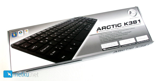 Arctic K381 keyboard - A keyboard for style-aware users