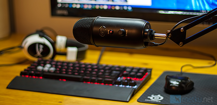 Blue Yeti - Quality microphone for Content Creators