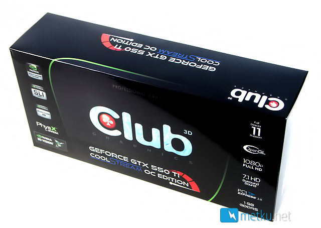 Club3D GTX 550 Ti  - CoolStream OC Edition