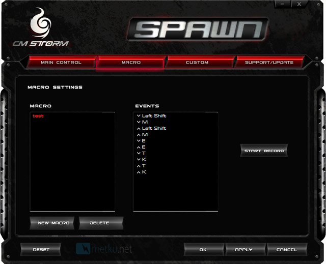 CM Storm Spawn Gaming mouse -