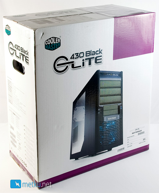 Cooler Master Elite 430 Black - Good looking case with potential