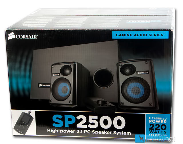 Corsair SP2500 2.1 Speaker System - High quality sound for any use