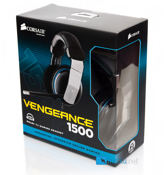 Corsair Vengeance 1500 Dolby 7.1 USB Gaming Headset - Extremely stylish 7.1 Gaming Headset