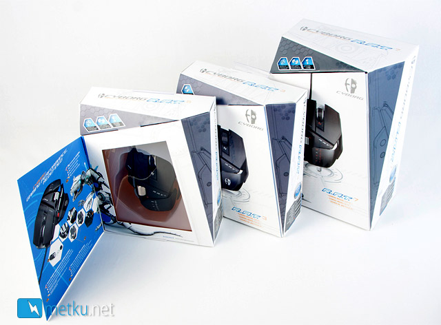 Cyborg R.A.T. Gaming Mice - Wired R.A.T. models 3, 5 and 7 reviewed
