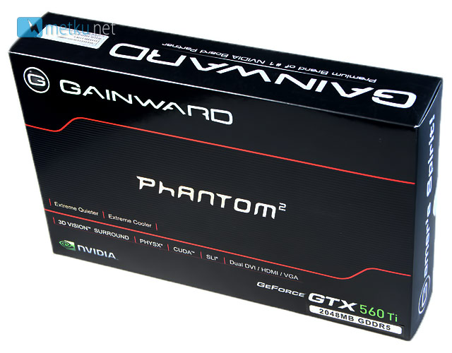 Gainward GTX 560 Ti 2048MB  - Fast graphics with a short card