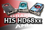 HIS HD68xx Graphics Cards