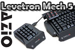 AZIO Levetron Mech5 Gaming Keyboard