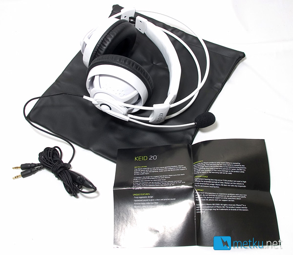 Mionix Keid 20 - Headphones for gamers