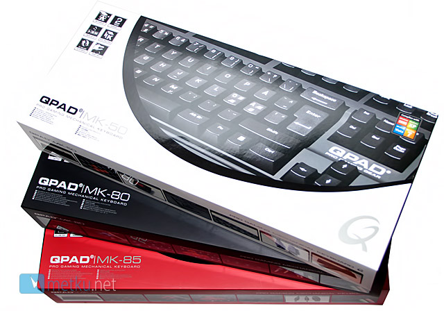QPAD MK-Series Mechanical Keyboards - Mechanical action for pro users