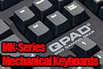 QPAD MK-Series Mechanical Keyboards