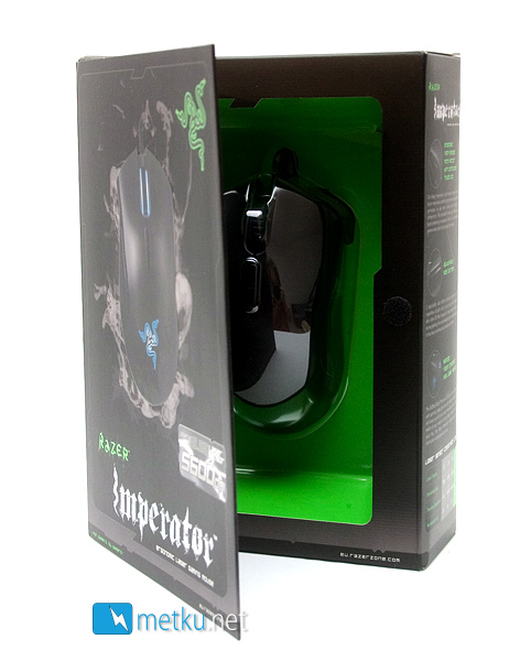 Razer Imperator Gaming Mouse Gaming Mouse with adjustable side buttons