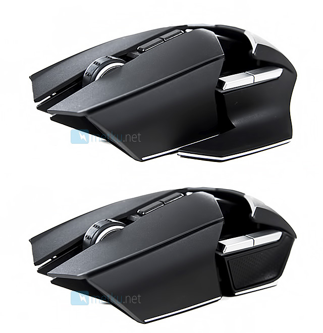 Razer Ouroboros Gaming Mouse - Ergonomic and downright cool looking gaming mouse.