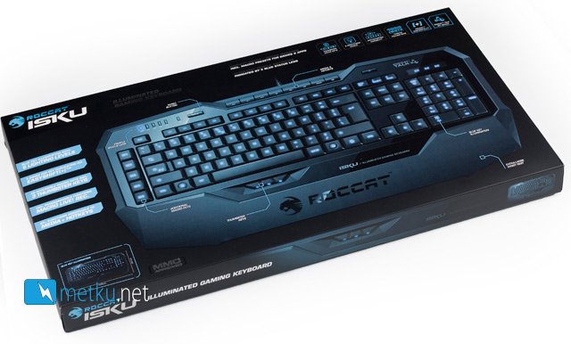 ROCCAT ISKU Gaming Keyboard - Gaming keyboard with good macro features