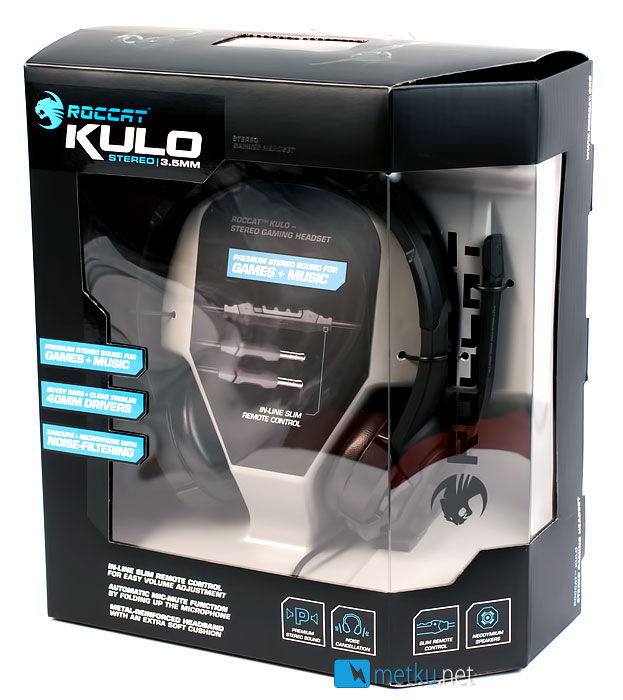 Roccat Kulo - Small headset for gamers