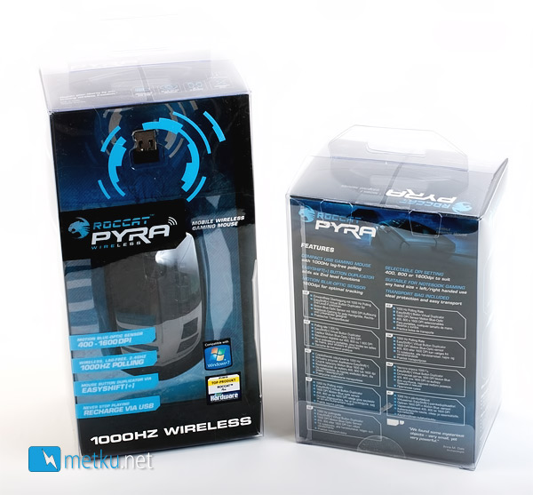 ROCCAT PYRA Wired + Wireless -