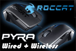 ROCCAT PYRA Wired + Wireless