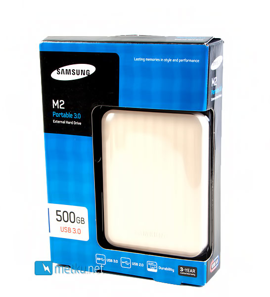 Samsung M2 Portable 3.0 External Hard Drive - Small and extremely fast External Hard Drive