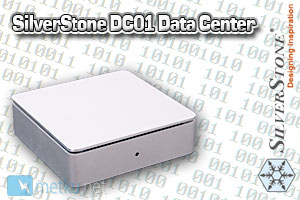 Silverstonetek DC01 Data Center NAS unit