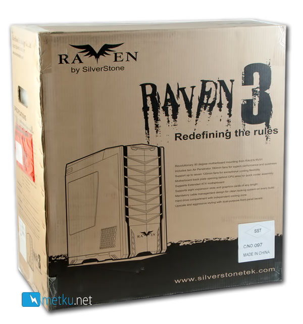 Silverstone Raven 3 - Innovative solutions to age-old problems