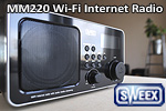 Sweex MM220 Wi-Fi Internet Radio