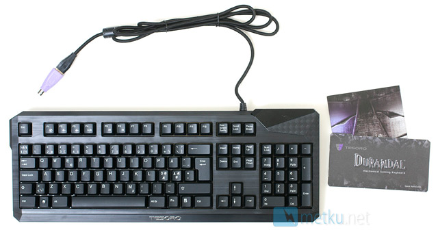 Tesoro Durandal & Durandal Ultimate - Stylish Gaming Keyboards