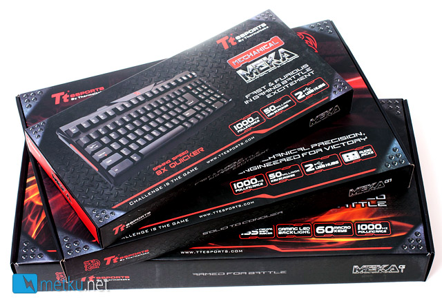 TTeSports MEKA, MEKA G1 and MEKA G-unit - Mechanical keyboards for gamers