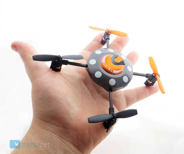 UDIRC U816 Microquad UFO - Radio controlled fun for the whole family