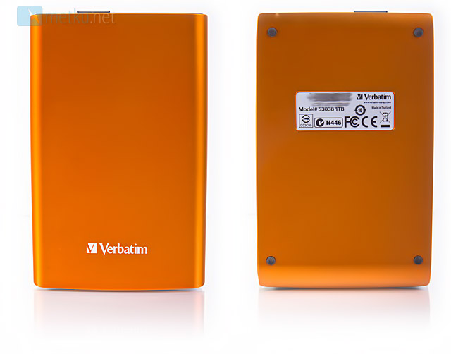 Verbatim Store'n'Go Portable Hard Drive - Colorful Portable Hard Drive