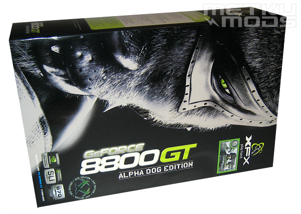 XFX 8800GT 512MB Alpha Dog Overclocked XXX Edition