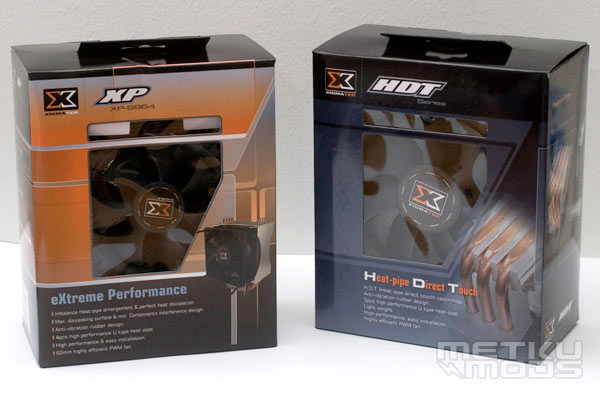 Xigmatek XP-S964 & HDT-S1283 Heatpipe Coolers Review